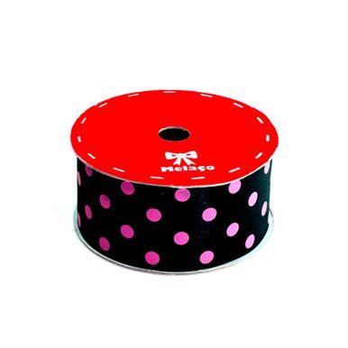 fita-cetim-melaco-40mm-preto-com-poa-pink-com-10m-1