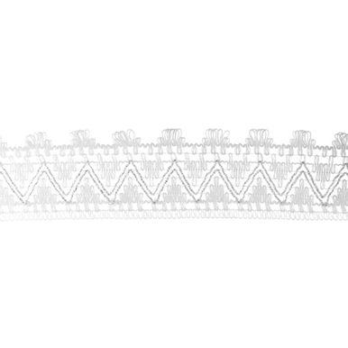 Renda-De-Algodao-Hak-R60-Fio-Metalizado-Branco-e-Prata-Imagem-2