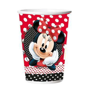 Copo-De-Papel-Red-Minnie-330ml-C-8-Unidades