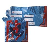 Convite-Grande-Ultimate-Spider-man-C-8-Unidades