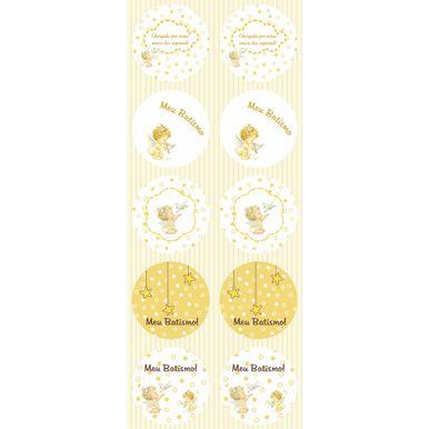 Adesivo-Duster-Redondo-4x4-Batismo-Branco-C-30-Pecas