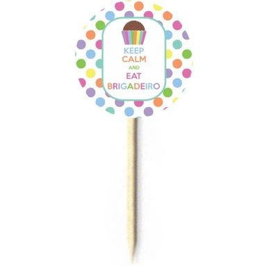 Palito-Decorativo-Duster-Keep-Calm-Brigadeiro-C-10-Pecas