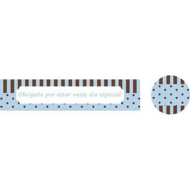 Etique-adesiva-lembranca-9x2-poa-marrom-e-azul