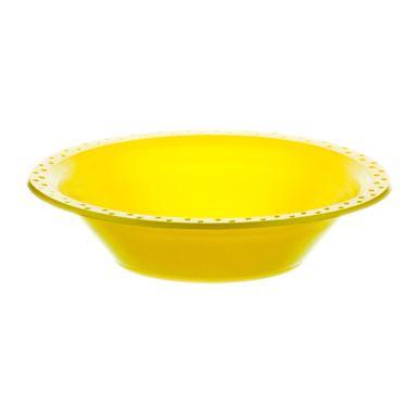 Prato-Fundo-15cm-Amarelo