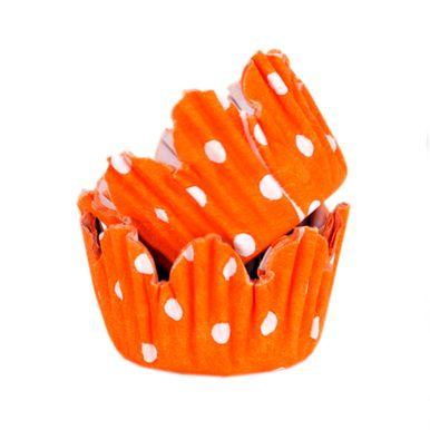 forminha-mago-n5-laranja-com-poa-branco