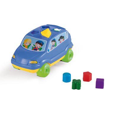 baby car azul calesita