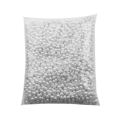 Meia-Perola-De-Plastico-Abs-08mm-com-500-Gramas-Branco