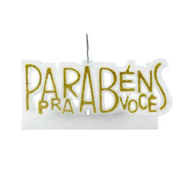 vela-parabens-pra-voce-glitter-amarelo