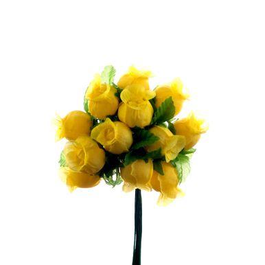 mini botão de flor amarelo 1