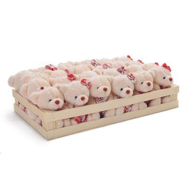 Caixa com mini ursos vermelho e branco. C  24 unidades  1616350 fa62b731ceb