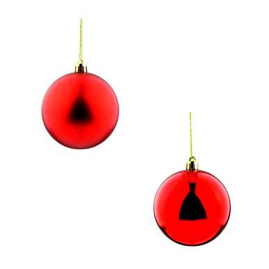 bola-de-natal-vermelha-fosca-2