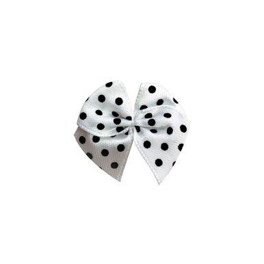 mini-laco-de-cetim-branco-poa-preto-pequeno