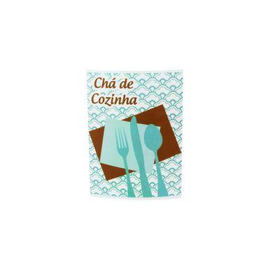 convite-cha-de-cozinha-azul-turquesa-e-marrom-9x7cm