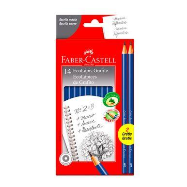 lapis-grafite-faber-castell-nº2b-ecolapis-c14-unidades-2