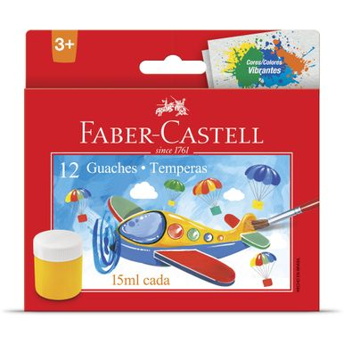 tempera-guache-lavavel-faber-castell-12-cores-15ml