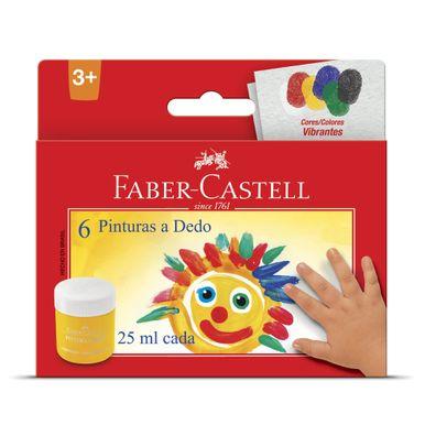 pintura-a-dedo-faber-castell-6-cores