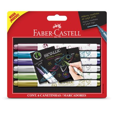 canetinha-hidrografica-metalica-faber-castell-c6-cores