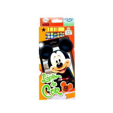 caixa-de-lapios-de-cor-mickey--mouse-molin-12-cores