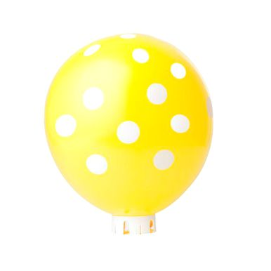 balao-happy-day-amarelo-com-poa-branco-nº-9-redondo-com-50-unidades