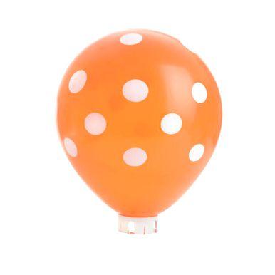 balao-happy-day-laranja-com-poa-branco-nº-9-redondo-com-50-unidades