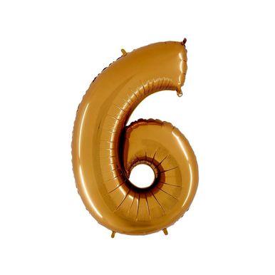 MIni-balao-numero-6-dourado-grabo