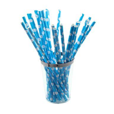 canudo-de-papel-artegift-c-25-unidades-azul-poa-branco