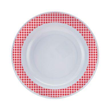 prato-redondo-xadrez-vermelho