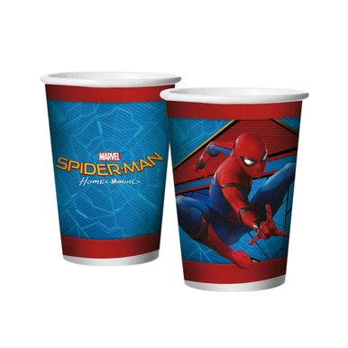 copo-papel-180ml-spider-man-home-coming