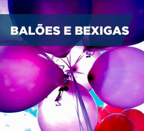 Banner Balões e Bexigas