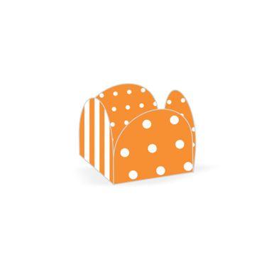 listras-e-poas-laranja-e-branco