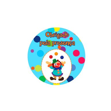 adesivo-redondo-duster-circo-palhaco-azul