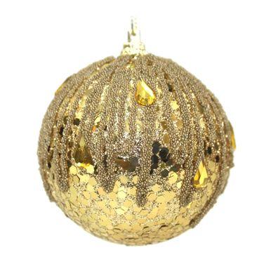 bola-dourada-decorada-glitter