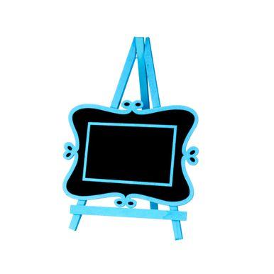 Lousa-C-cavalete-20x28cm-C-detalhes-Lateral-Azul-C01-Unidade
