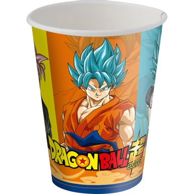 Copo-Papel-200ml-Dragon-Ball-C8-Unidade