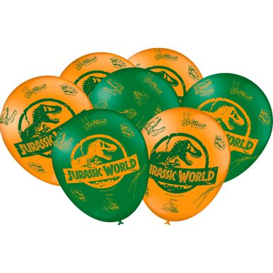Balao-Festcolor-Especial-Jurassic-World-C25-Unidades