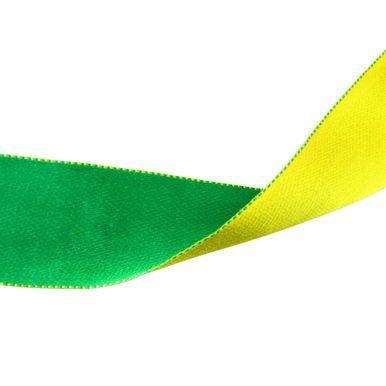 Fita-cetim-dupla-face-verde-e-amarelo