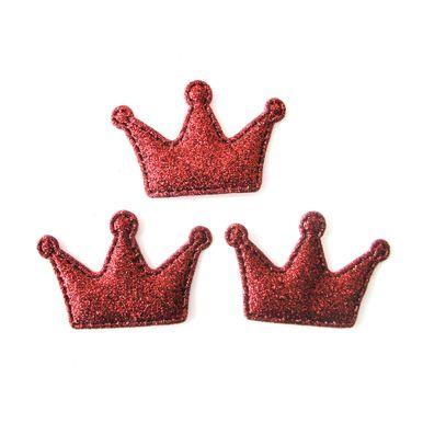 Aplique-Metalizado-Coroa-Vermelho