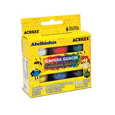 Tempera-Guache-Acrilex-Fantasia-Glitter-15ml-C-6-Unidades