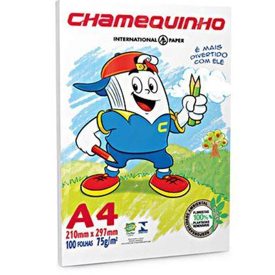Papel-Sulfite-Chamequinho-A4-75gr-m²-C-100-Folhas-Branco