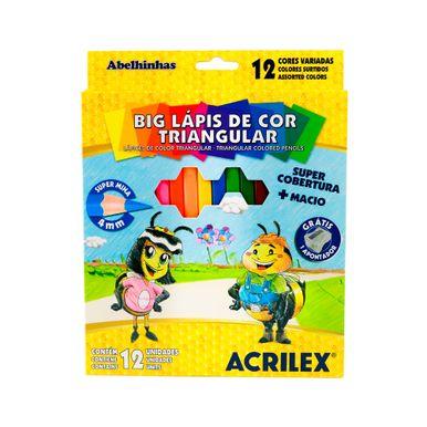 Big-lapis-de-cor-acrilex-triangular-com-12-cores
