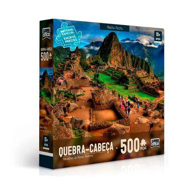 Quebra-Cabeca---Maravilhas-Do-Mundo-500-Pecas---Machu-Picchu