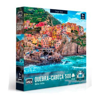Quebra-Cabeca---Bella-Italia-500-Pecas---Cinque-Terre