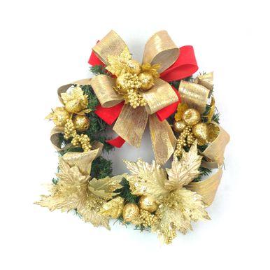 Guirlanda-Verde-35cm-Dourada-Laco-vermelho-7252500001011
