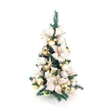 Arvore-de-Natal-Decorada-Portobelo-Verde-90Cm-Disney-Nude-Ouro-7252500001004