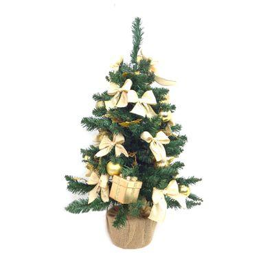 Mini-Arvore-de-Natal-Decorada-Base-Juta-Ouro-c-Presente-7252500000995